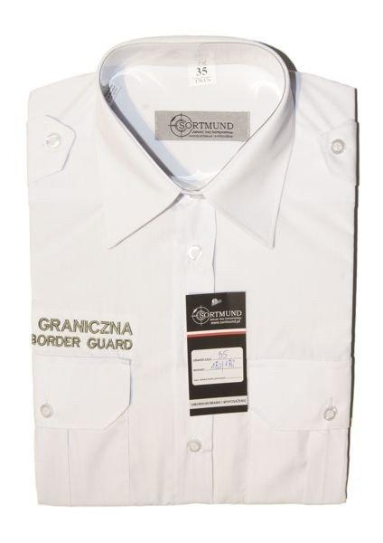 Koszula biała Straży Granicznej POLISH BORDER GUARD  uozDT