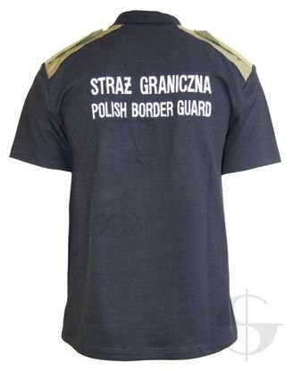 Koszulka polo SG Polish Border Guard