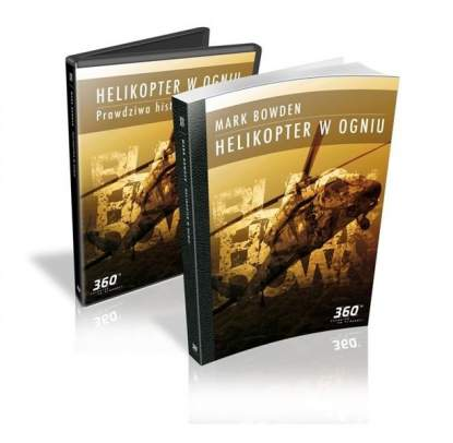 "Mark Bowden ""Helikopter w ogniu"" + DVD"