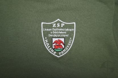 T-shirt ZSP Kalisz Pomorski - military green
